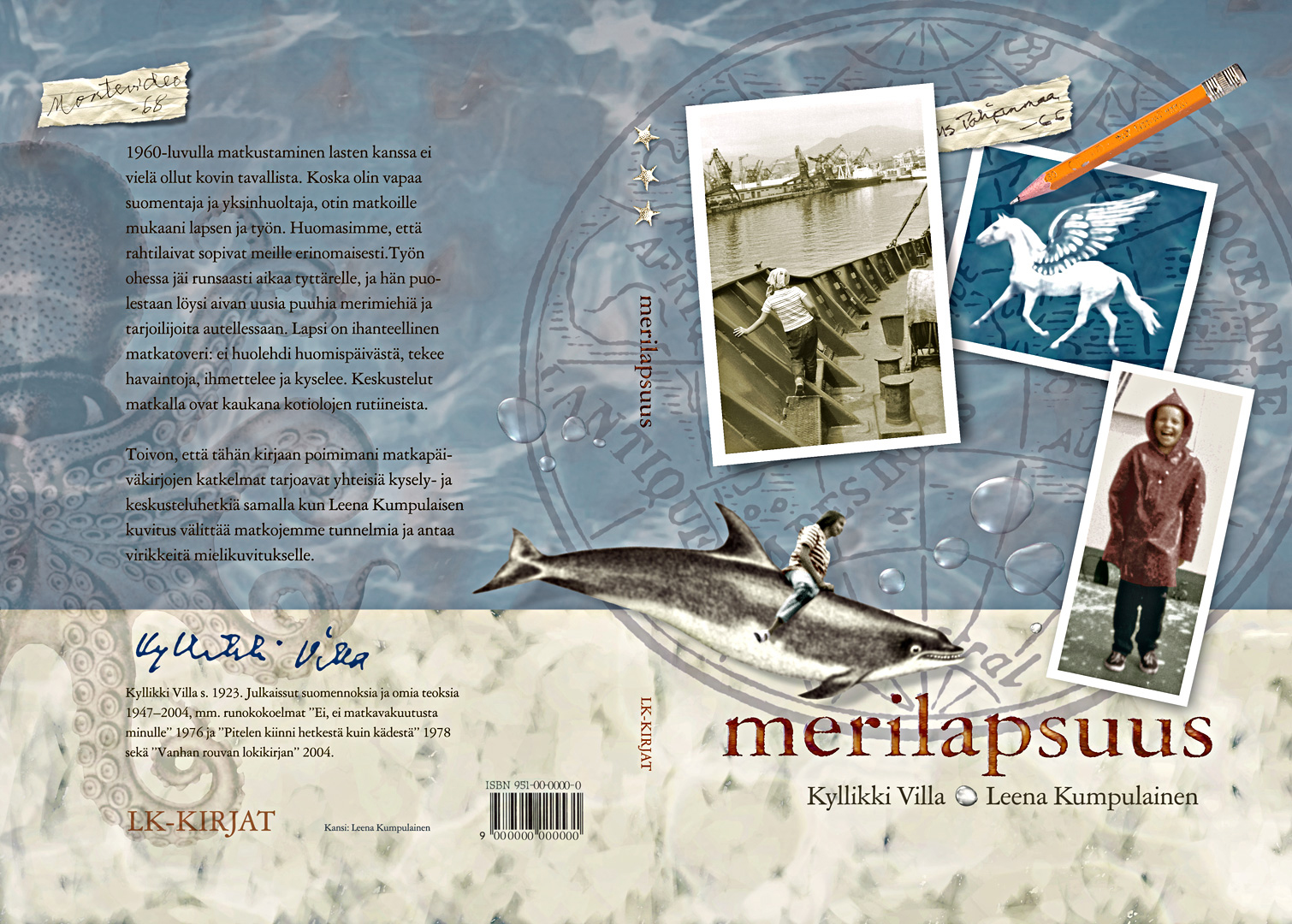 merilapsuus-childhood-at-sea-book-cover-design